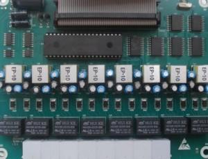 出售国威WS824-10的老机器板卡了,维修国威老交换机分机板