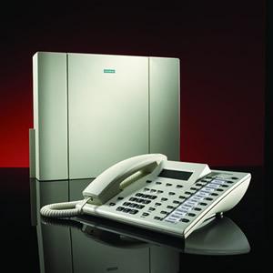 一台西门子1800的电话交换机,外线无法打进打出,一直占线