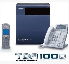 松下KX-TDA100D,混合IP-PBX系统