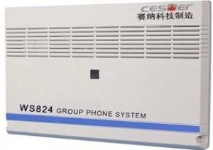 国威WS824-10A,最大容量8外线48分机,和10型不兼容分机板