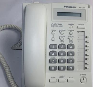 维修安装松下KX-T7665数字前台电话机,可回收上海可安装和调测,配合TDA交换机使用