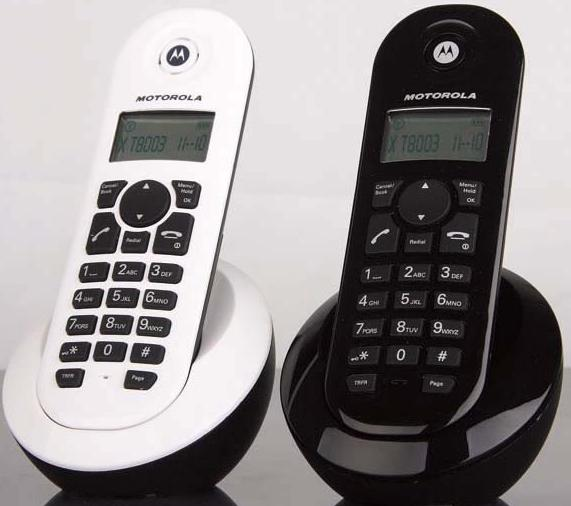 C601ZC(w)子机是由Moto定制的2.4G无绳电话机