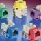 8芯网络线路的安装和模块选择,RJ11和RJ45线路水晶头安装